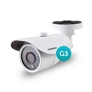 Câmera Infra Intelbras Vm 3120 3ª Ger Hibrida 2,8mm 1000 Linhas + 720p Ahd