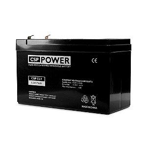 Bateria Selada CSP Power - Recarregável 12 Volts 7AH