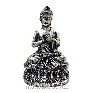 Buda Hindu Prateado 15cm