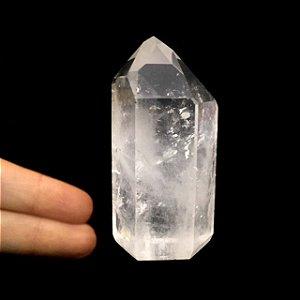 Cristal Gerador Ponta de Quartzo Branco M