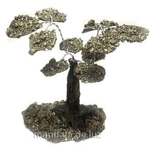 Árvore de Pirita Pedras Naturais 12cm