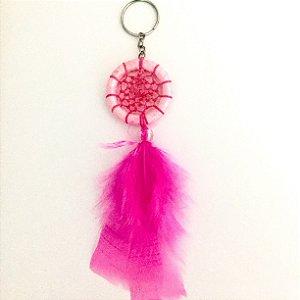 Chaveiro Filtro dos Sonhos Rosa/Pink