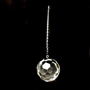 Prisma Esfera Multifacetada de Cristal