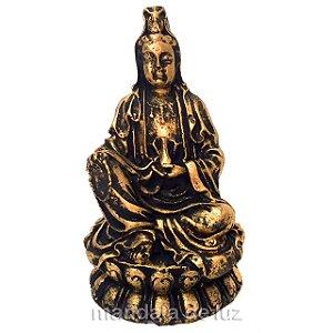 Estátua Deusa Kuan Yin 9,5cm