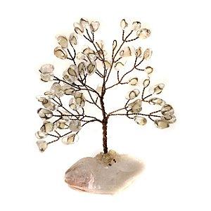 Árvore de Cristais Transparentes 15,5cm