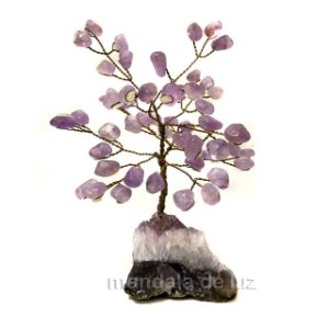 Árvore de Cristais Ametista com Base de Drusa 16cm