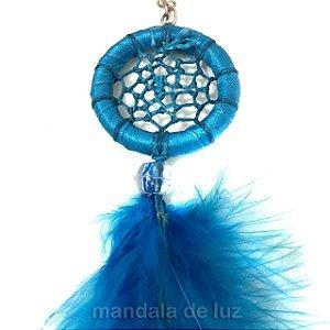 Chaveiro Filtro dos Sonhos Azul Claro