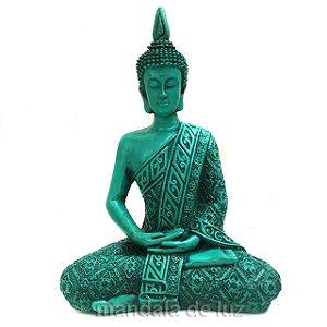 Buda Hindu Médio Verde 21cm