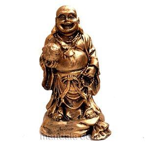 Buda Chines da Riqueza em pé 14cm