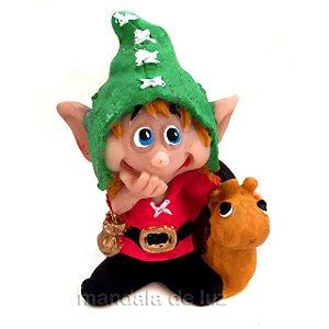 Pumy Duende Amigo Chapéu Verde 8cm