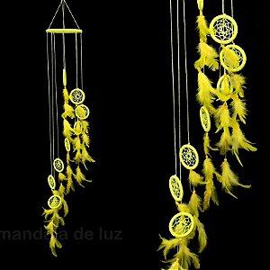 Mobile Filtro dos Sonhos Amarelo 95cm