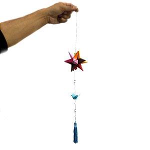 Origami Mobile Estrela e Tsuru