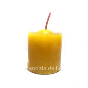 Velas Aromáticas Perfumadas Chama de Ouro Repelente Citronela