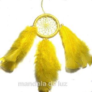 Filtro Sonhos Amarelo 23cm