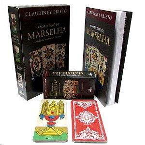 Livro e Baralho de 78 cartas O Novo Tarô de Marselha