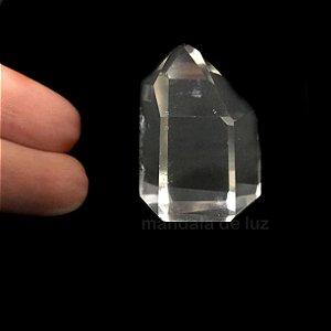 Ponta de Cristal Translúcido Pequeno 20g
