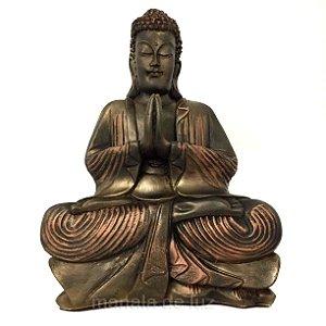 Estátua de Buda Hindu Resina Grande 40cm - 139