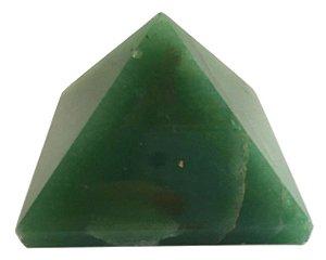 Pirâmide de Pedra Quartzo Verde