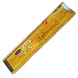 Incenso Natural Sandalwood Incense Sticks Nikhils