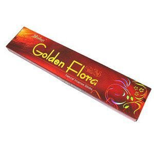 Incenso Golden Flora Balaji Natural Incense Sticks