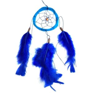Filtro dos Sonhos 1 Aro Azul 25cm