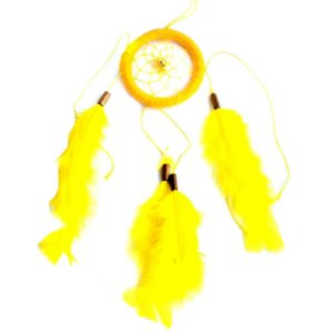 Filtro dos Sonhos 1 Aro Amarelo 25cm