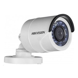 Camera Hd Hikvision 3,6mm Bullet 2mp 1080p IR 20mts Plastico DS 2CE16D1T IR