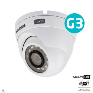 Câmera Intelbras Dome Com Infravermelho MULTI HD - 720p IR 20mts 2,8mm - VHD 1120D G3