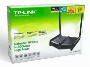 Roteador Wireless TP-LINK N 300Mbps High Power TL-WR841HP