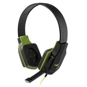 Headset Gamer Multilaser Preto e Verde - PH146