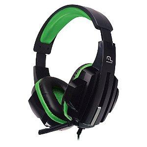 Fone De Ouvido Headset Gamer P2/Cabo Nylon Verde - PH123