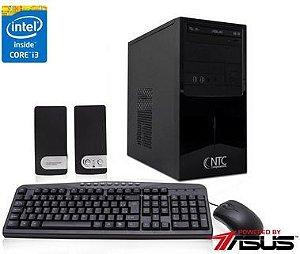 Computador NTC Intel Core i3 i3-4170, 8GB, HD 1TB, DVD, KIT, 300W - 4047 AS