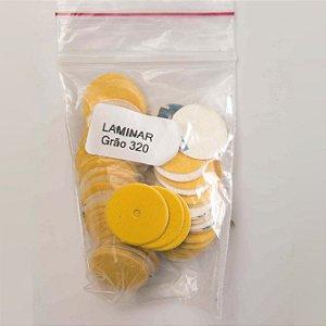 Lixa laminar GR 320, embalagem com 100 unidades