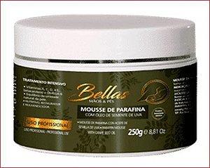 Mousse de Parafina Bellas com Óleo de Semente de Uva - 250g