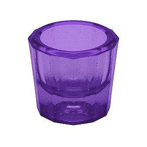 Pote Dappen em vidro cor ROXA, marca Thimon
