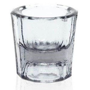 Pote Dappen em vidro cor TRANSPARENTE, marca Thimon, modelo TPO 340
