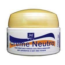 Creme Neutro Base 100gr , marca RHR