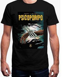 Camisa Psicopompo Preta masculina