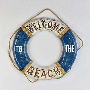Bóia Welcome Beach 40 cm Azul
