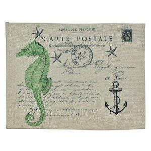 Jogo Americano Carte Postale