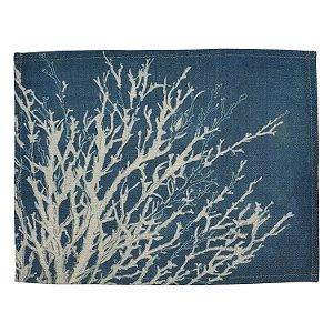 Jogo Americano Azul Coral