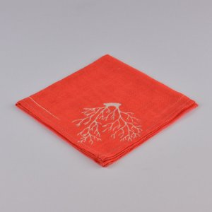 Guardanapo Coral Vermelho