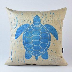 Almofada Náutica Tartaruga Aqua