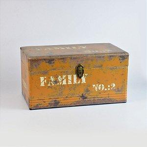 Baú Vintage Rústico Pequeno