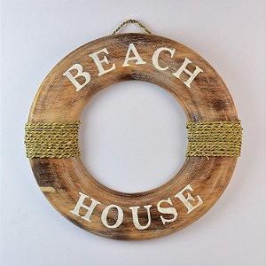 Enfeite Bóia Marrom Beach House
