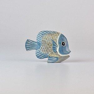 Enfeite Peixe Azul Pequeno