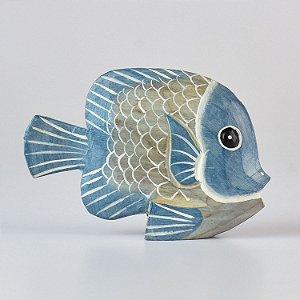 Enfeite Peixe Azul Grande