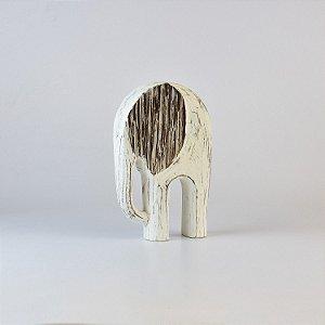 Enfeite Elefante Branco Pequeno