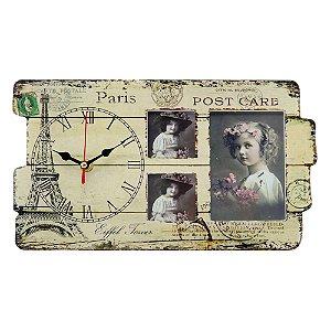 Relógio de Mesa Vintage Paris