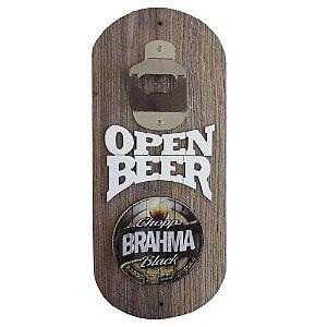 Abridor de Garrafa de Parede Open Beer Brahma
